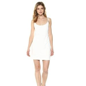 FRENCH CONNECTION WHITE WHISPER DRESS NWT